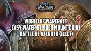 World of Warcraft - Easy Water Strider mount guide