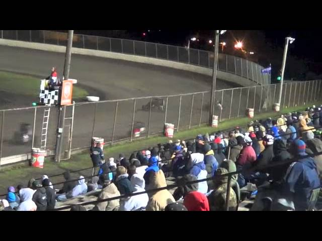 Tri City Speedway Gold Crown Qualifier Race #2, USAC Midget October 6, 2012