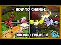 How to change Oricorio's Form & Nectar Locations in Pokémon Ultra Sun & Moon!