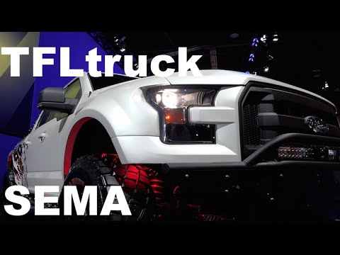 2015 Ford F-150 SEMA DIY Raptor: Yes. a Do-It-Yourself Raptor