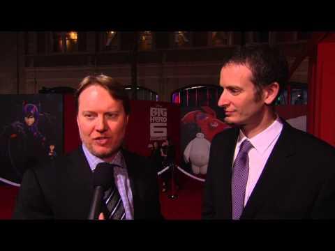Big Hero 6: Directors Don Hall & Chris Williams Red Carpet Movie Interview
