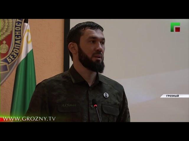 Председатель Парламента ЧР поздравил работников органов безопасности России
