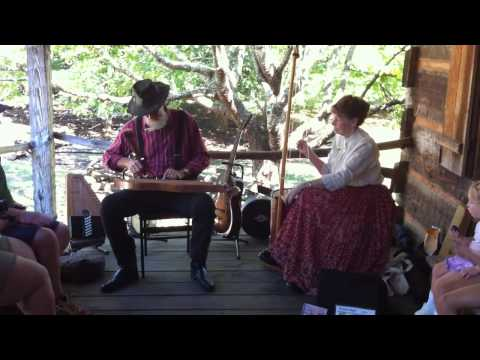 Musicians Outside Cable Mill Visitor Center Video