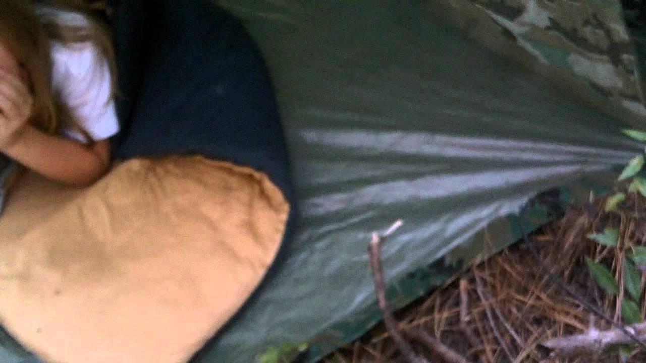 Camouflaging Bug Out Shelter : Bug out survival tarp shelter youtube