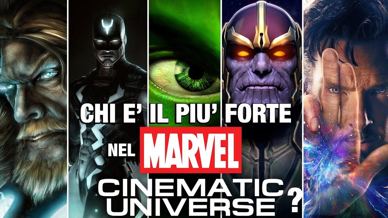 TOP 5 Chi è il Supereroe Marvel più forte?