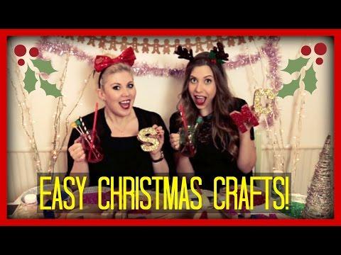 Two Girls, One (easy,festive) Craft! | Sprinkle of Glitter