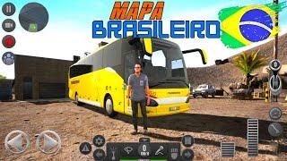 Atualização Bus Simulator Ultimate Novo Mapa Brasileiro!