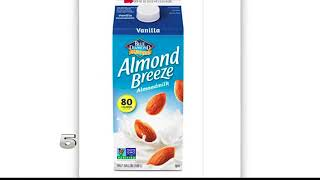 Blue Diamond Almond Milk Recalled
