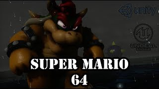 Super Mario 64 - Bowser Fight on Unreal Engine 4 | Goofin Group