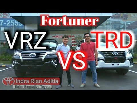 Review Fortuner TRD VS VRZ
