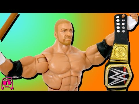 Triple H WWE Wrestlemania 33 Elite Mattel Toy Review!!