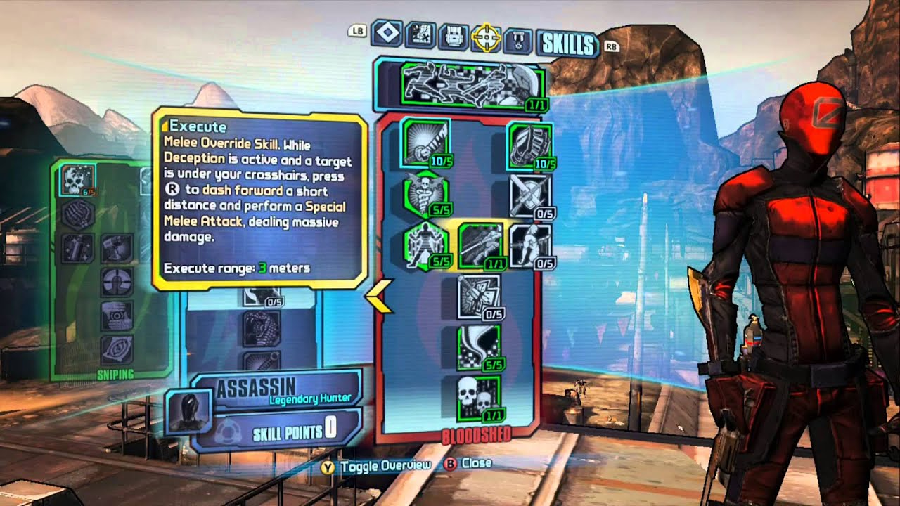 Borderlands  Assassin Build Sniper