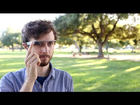 First Ever Typing On Google Glass