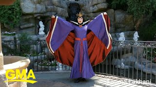 This Evil Queen in Disneyland is absolutely killing it | GMA
