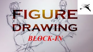 Figure Drawing Gesture And Proportion With Block In Method
