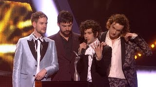 The 1975 win British Group | The BRITs 2017