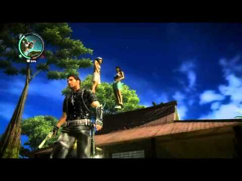 Just Cause 2- Floating Girls