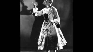 Vilja from 'The Merry Widow' June Bronhill