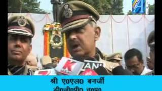 A L Banerjee DGP UP byte on police smriti diwas Report By Senior Reporter Mr Roomi Siddiqui  ASIAN T