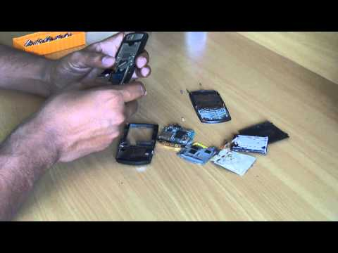 How to disassemble Samsung mobile SGH-J700?