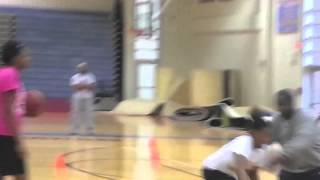 Aaliyah Milord 2016 HIES Christmas Eve First Steps Sports Basketball Training