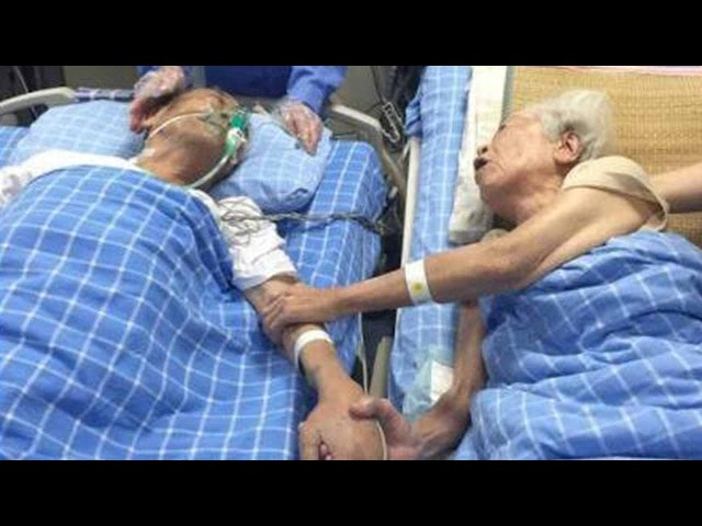 Holding hands, growing old with you till death