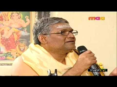 Telugu Interview of Sri Sri Bharathi Tirtha Mahaswamiji - Hyderabad...