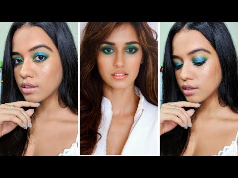 Emerald Green Eyes Inspired by Disha Patani | Chatty GRWM