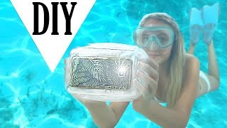DIY UNDERWATER CASE for your phone