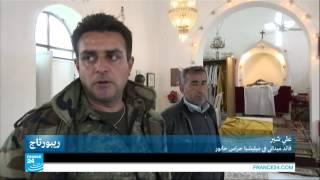 سوريا ـ آشوريون يحملون السلاح لصد هجمات تنظيم الدولة الاسلامية