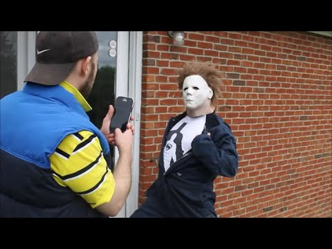 Michael Myers Halloween Glamour Shots (Funny Michael Myers Halloween Parody)
