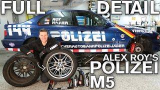 Sticker Removal & Paint Restoration: Alex Roy's Polizei M5