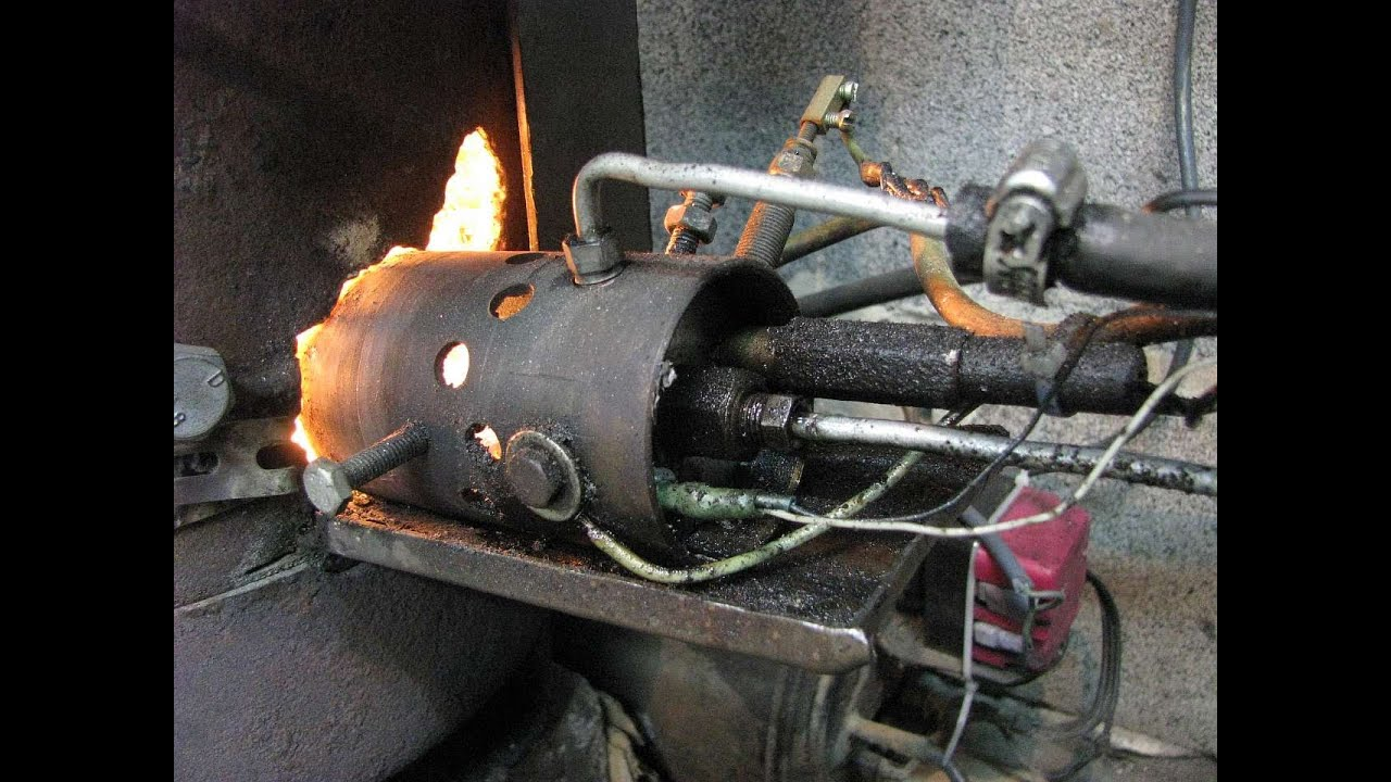 Как сделать масляную горелку