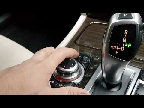 How to reset tyre pressure light - BMW 7 Series