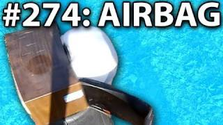 Microwave Another Airbag ... In Slow Motion (#274)