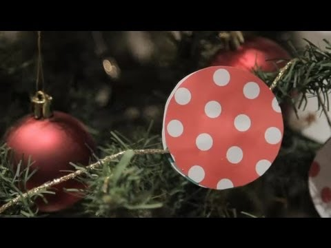 How to make garlands to decorate your Christmas tree : Christmas crafts for the whole family