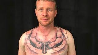 Trucker gets bizarre tattoo that become viral