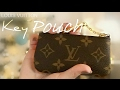 HOW I use my Louis Vuitton Key Pouch! (What I carry inside & what it's good for!)