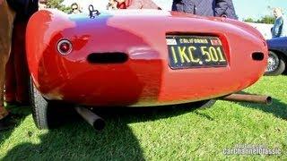 Ferrari 166 Spyder Corsa - Start up sound!