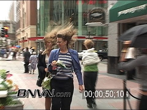 6/30/2005 Minneapolis, MN Windy weather video