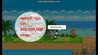 Nghịch ngu với 360 million vàng [ Ngọc Rồng Online ] 6 sao lên 7 sao | Lưu Chí Cường