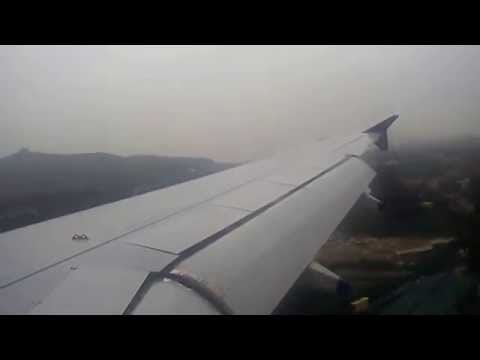 landing at Chennai Airport Indigo Airlines(india) airbus A320 Mumbai--Chennai flight 6E-431.
