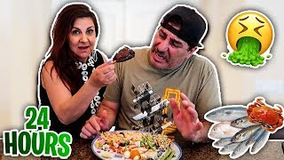 My wife control what I EAT for 24 hours!!