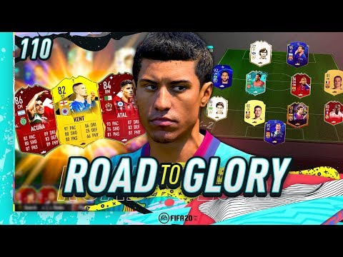 FIFA 20 ROAD TO GLORY #110 - THEY ARE OVERPOWERED!!