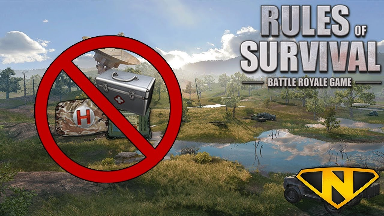 No Heal Challenge! (Rules of Survival: Battle Royale #97)