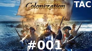 Let's Play Sid Meier's Civilization IV - Colonization #001 Entdeckergefühle (Deutsch/German)
