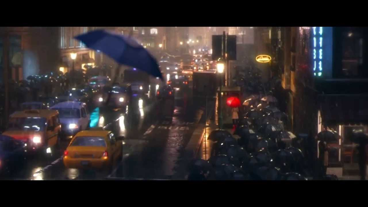 Blue Umbrella Pixar Wallpaper Pixar The Blue Umbrella Short