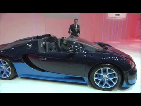 Bugatti Veyron 16.4 Grand Sport Vitesse preview at VW Group Evening | Geneva | March 2012