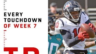 Every Touchdown from Week 7   NFL 2018 Highlights