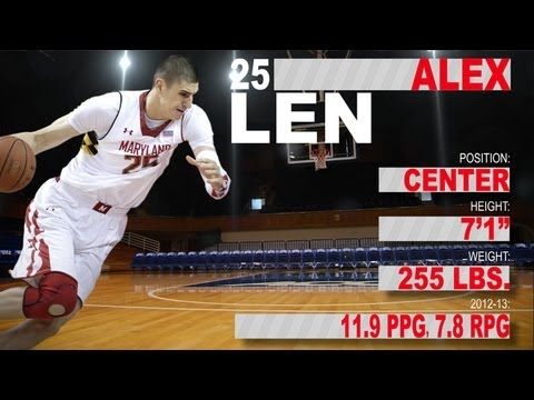Alex Len - Maryland - Official Highlights - 2013 NBA Draft